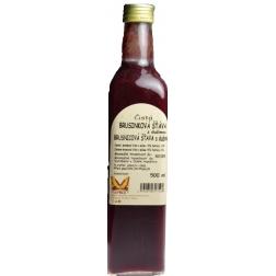 Brusinková šťáva s dužinou 500 ml