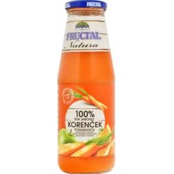Šťáva mrkev - Fruktal 700ml