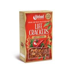 LIFE CRACKERS Mexické BIO RAW (balení 90 g)