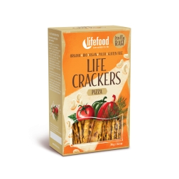 LIFE CRACKERS à la pizza BIO RAW (balení 70 g)