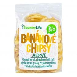 Banánové plátky 100 g BIO COUNTRY LIFE