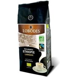 Lobodis Langani Moka BIO Mletá káva 250 g