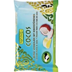 Bio bílá čokoláda s kokosem RAPUNZEL 100 g