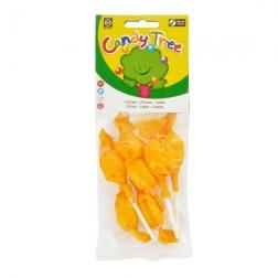 Lízátka s příchutí citronu bezlepková 7x10 g BIO CANDY TREE