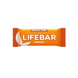 Lifebar meruňková BIO RAW 47 g