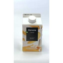 BIO Lassí jogurtové - banán 500 ml COSMOVEDA