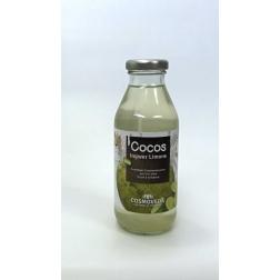 BIO Kokosová voda - zázvor a limetka 360 ml COSMOVEDA