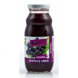 BIO SMOOTHIE dřeňový nápoj - ARÓNIE 200ml WELLBERRY