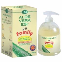 Aloe vera gel s vit. E a Tea - tree 500 ml ESI AKCE 3+1 ZDARMA