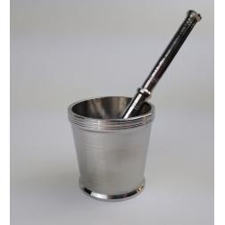 Hmoždíř kovový - nerez velký, velikost 4