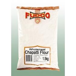 CHAPATI - mouka pšeničná celozrnná 1,5 kg FUDCO