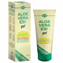 Aloe vera gel s vit. E a Tea-tree 200 ml ESI