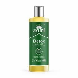 Olej masážní DETOX - detoxikační 250 ml AYUURI