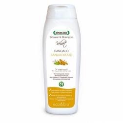 Šampon tělový a vlasový SANTAL - ECO & BIO 250 ml ALMACABIO
