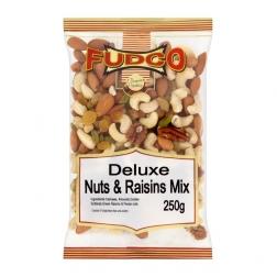 Ořechová směs s rozinkami 250 g FUDCO