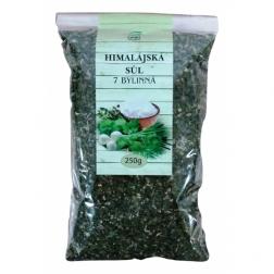 Sůl himalájská bílá jemně mletá 7 BYLINNÁ SŮL 250 g