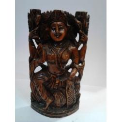 socha dřevo - LAKŠMÍ