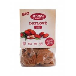Datlové bio sušenky s citrónovým olejem 100g zemanka
