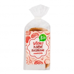 Sušenky plněné rozinkami 200 g BIO COUNTRY LIFE