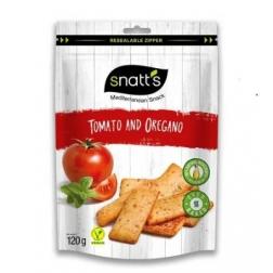Chlebíčky tomato, oregáno 120g Snatts