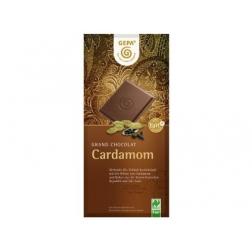 Mléčná čokoláda s kardamomem BIO 100 g Fair Trade