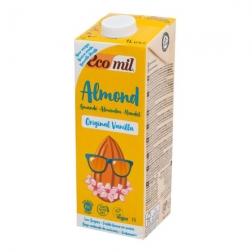 Nápoj ze sladkých mandlí vanilka 1 l BIO ECOMIL