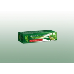 VZOREK Neemová zubní pasta (gel) s amlou a hřebíčkem SANJIVANI 10 ml DNM