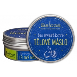 BIO švestkové tělové máslo 150ml Saloos