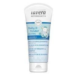 Vlasový a tělový šampon pro děti 200ml Lavera