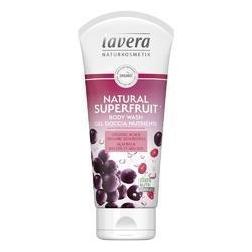 Sprchový gel natural SUPERFRUIT 200ml Lavera