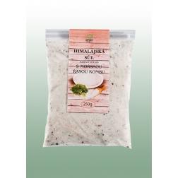 Sůl Himalájská bílá jemně mletá S MOŘSKOU ŘASOU 250 g DNM