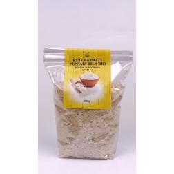 Rýže Basmati PUNJABI BÍLÁ BIO 300 g DNM