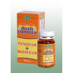 MULTICOMPLEX TABLETY - Magnesium + Draslík 90 ks ESI
