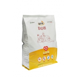 AMI DOG rostlinné granule 3 kg AMI