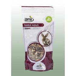100 % rostlinné krmivo pro dospělé králíky 1 kg AMI