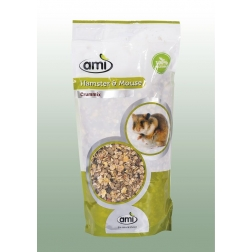 100 % rostlinné krmivo pro křečky a myši 1 kg AMI