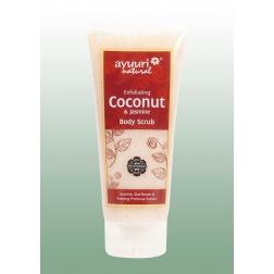 Peeling tělový s kokosem a jasmínem 200 ml AYUURI