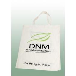 Nákupní bavlněná taška - dlouhé ucho - Logo DNM