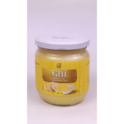 GHÍ - přepuštěné máslo ve skle 350 g/425 ml DNM