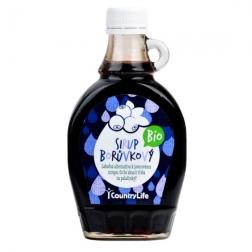 Sirup borůvkový 250 ml BIO COUNTRY LIFE