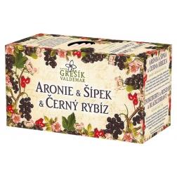 Aronie & Šípek & Černý rybíz 20 x 2,0 g