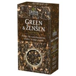 Green & Ženšen - pravý zelený čaj 70g (VALDEMAR GREŠÍK)