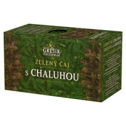 Zelený čaj s Chaluhou  20 x 1,5 g (Valdemar Grešík)