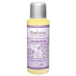 Tělový a masážní olej LEVANDULE BIO SALOOS