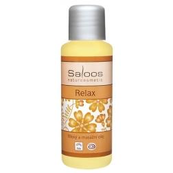 Tělový a masážní olej RELAX BIO SALOOS