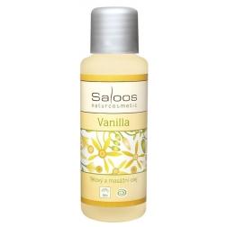 Tělový a masážní olej VANILKA BIO SALOOS
