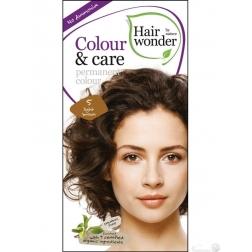 Hairwonder Přírodní dlouhotrvající barva BIO SVĚTLÁ HNĚDÁ 5